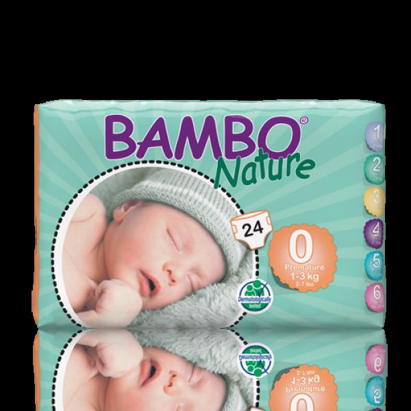 Bambo® Nature Premature Nappy | Size 0