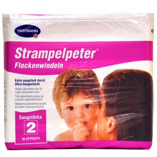 Strampelpeter Booster / Insert Pad | 11x38cm | 56 Per Pack | 230ml