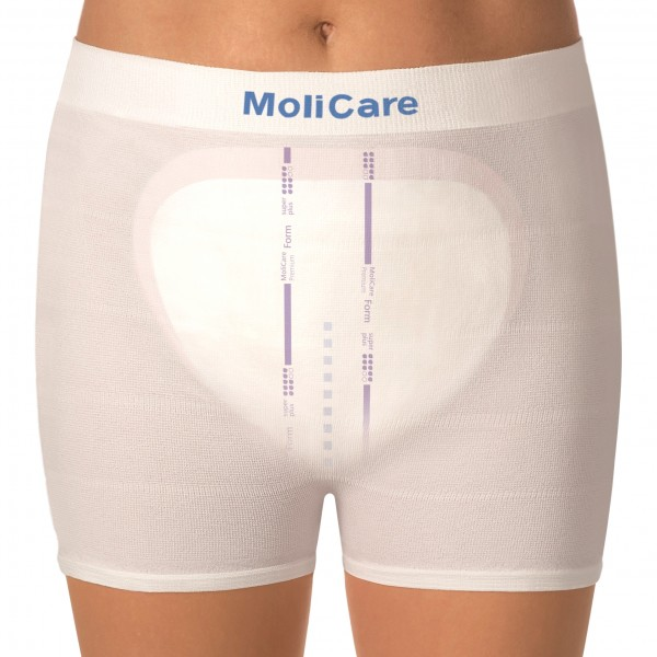 MoliCare® Form Premium Soft Incontinence Pads | Super Plus