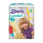 Size 7 Nappies | Libero Comfort Fit (16kg - 26kg)