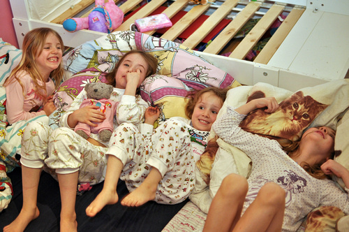 discreet bedwetting products for sleepovers. Image credit: Flickr user AnneCN