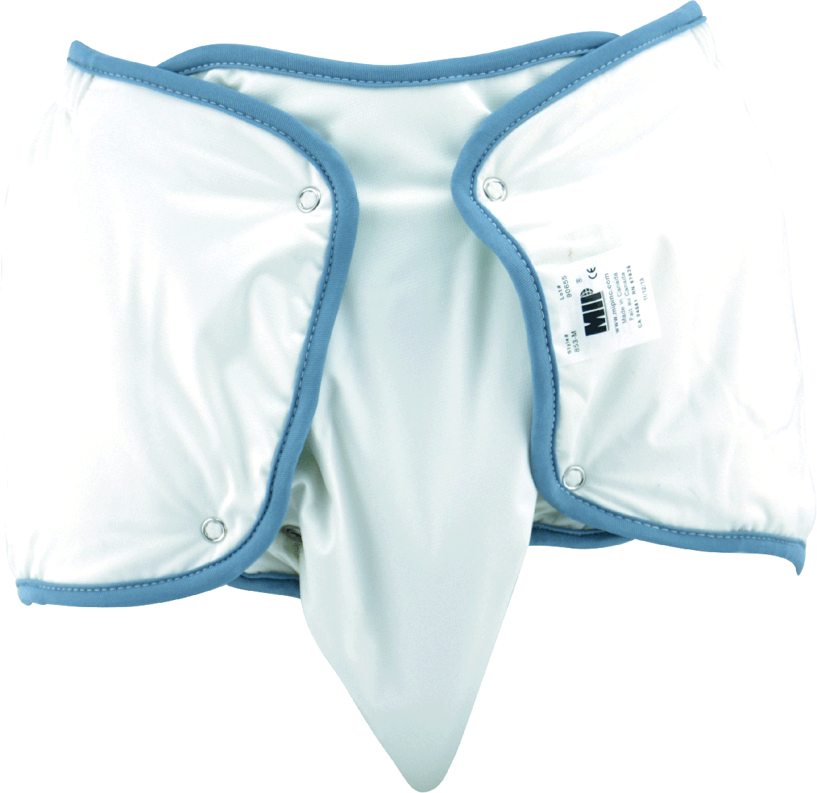 Washable Nappy Model Front