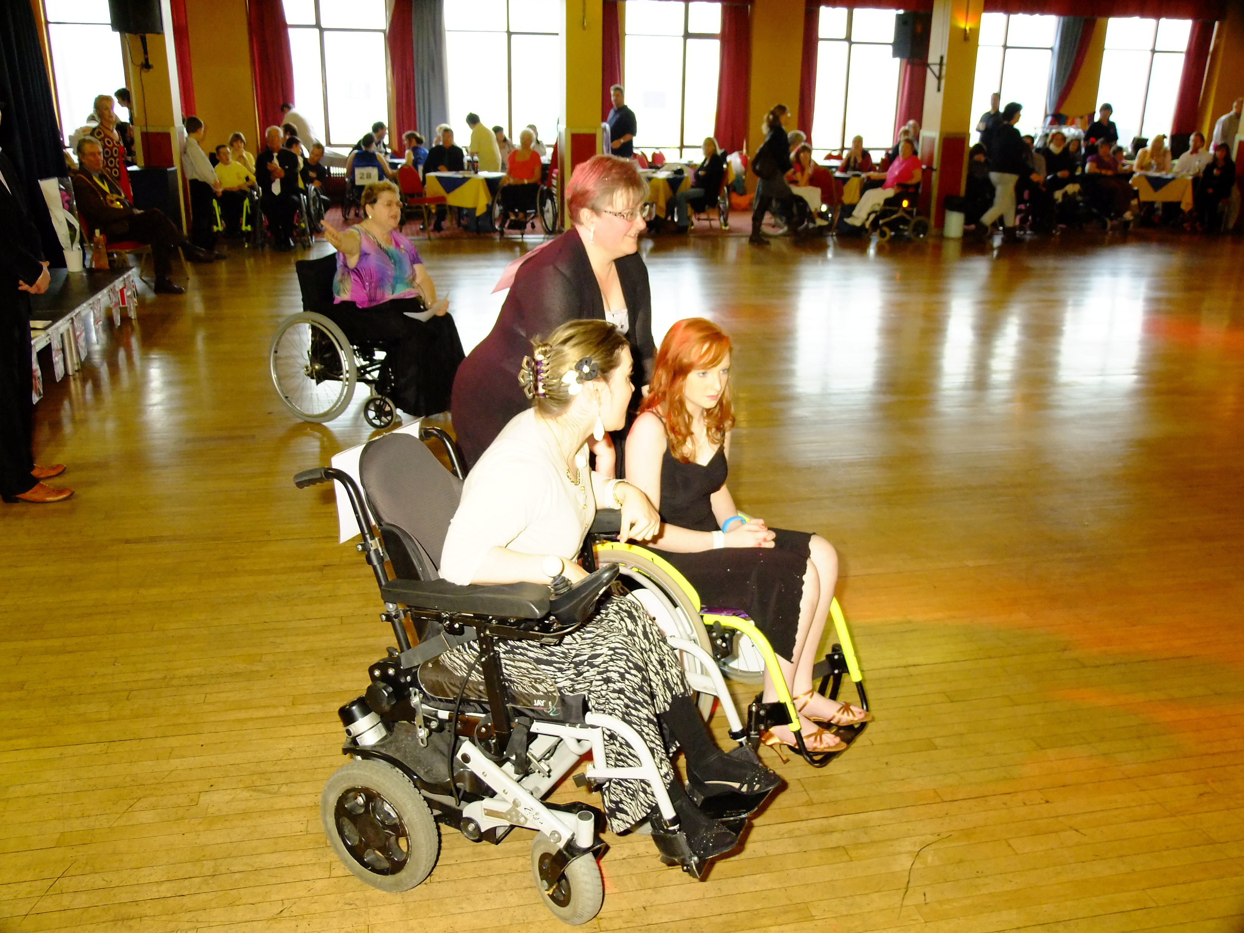 Wheelchair Dancing from the Wheelchair Dance Sport Association UK